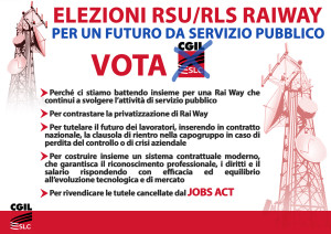 A4 elezioni RSU manifesto orizzontale